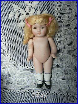 Antique All Bisque Kestner Bonn Doll 83 100 Original In Box Princess 6 3/4