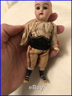 Antique All Original 5.5 Simon Halbig Kammer & Reinhardt Mignonette Boy Doll