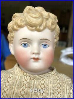 Antique Alt Beck & Gottschalk Parian Girl Doll China Doll