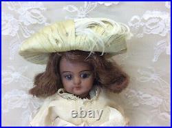 Antique Barefoot Mulatto Simon Halbig 886 Mignonette All Bisque Doll