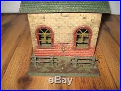Antique Bing Ticket Office Train Station Prewar German Rare Tin Vintage D. R. G. M