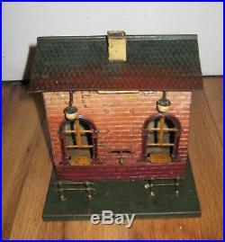 Antique Bing Ticket Office Train Station Prewar German Rare Tin Vintage Marklin