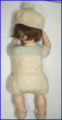 Antique Bisque Doll Baby 5 Piece Body 971 Armand Marseilles 18