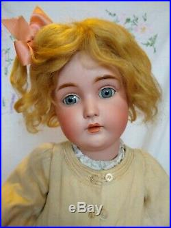 Antique Bisque Doll Kestner 171 Large 26 Size Fabulous Antique Clothing German