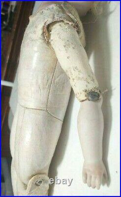 Antique Bisque German Doll 22 Shoulder Head Kestner Perfect Hands
