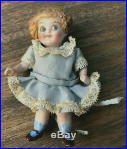 Antique Bisque Googly Eye Doll #350 Germany 3.75