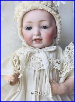 Antique Character KESTNER Solid Dome Baby JDK 7 Baby 11