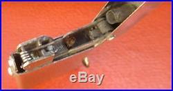 Antique D. R. G. M German semi automatic Petrol Lighter old vintage