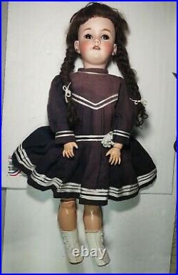 Antique Doll German 27 Handwerck Halbig 119
