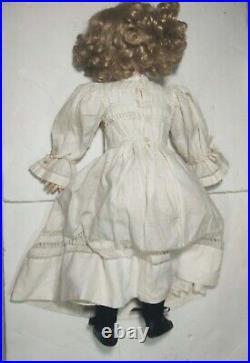 Antique Doll German Bisque 23 Dep Stamped Body