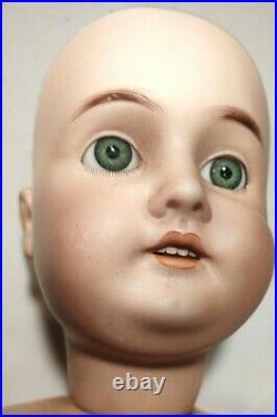 Antique Doll German Bisque 26 Karl Hartman Bj Body