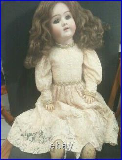 Antique Doll German Bisque 30 Handwerck 109-15 Dep