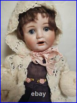 Antique Doll German Bisque Baby Goebel 16