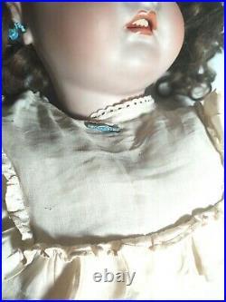 Antique Doll German Bisque Huge 32 Kr Simon Halbig