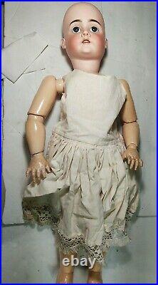 Antique Doll German Bisque Walkure 282 Kley & Hahn 30