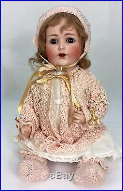 Antique Doll Kestner JDK 257 Bisque Head Composition Body 16 Baby Germany
