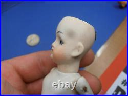 Antique Dolls Germany bisque doll with glass eyes Limbach/ kister 1900