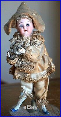 Antique Early 1900s German Bisque Doll by Schoenau & Hoffmeister on Candy Box