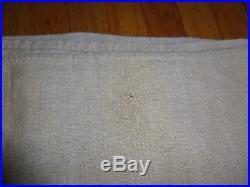 Antique FEED SACK Grain Sack CIRCA 1889 VINTAGE GERMAN Textile