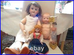 Antique French And German Dolls