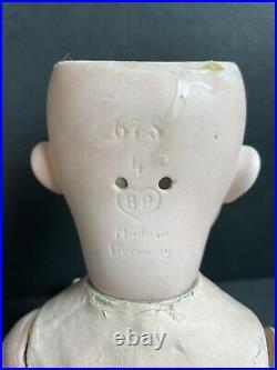 Antique German 13 Bahr Proschild 678 BP Bisque Head Baby Doll