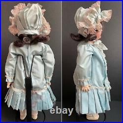 Antique German 19 Heinrich Handwerck 109 H Bisque Head Doll Comp. Body