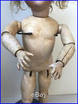 Antique German 20 Armand Marseille Baby Betty Bisque Head Doll
