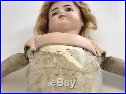 Antique German Alt Beck Gottschalk 698 Closed Mouth Turned Shoulder Head Doll