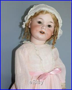 Antique German Bisque Doll'a M 590' Toddler