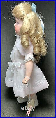 Antique German Bisque Head Compo Body Cabinet Doll Steiner 5/0 Open Mouth Teeth