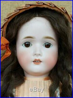Antique German Bisque Head Doll 24 GANS & SEYFARTH Stunning Beauty