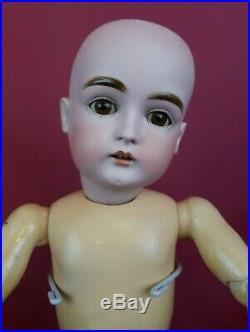 Antique German Bisque Head Doll Kestner 167 On Kestner Marked Jointed Body Nice