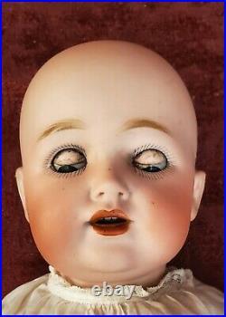 Antique German Bisque Head TODDLER Side Hip Body Doll JDK Kestner 260-15 inches