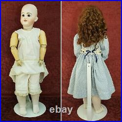 Antique German Bisque Socket Head Simon & Halbig 1009 DEP Doll Fully Jointed 26