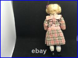 Antique German Bisque William Goebel Dollhouse Mignonette Doll