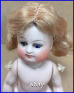 Antique German Early Pouty Kestner All bisque Doll