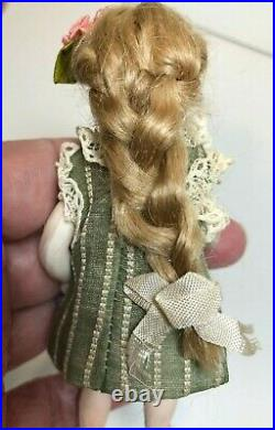 Antique German Early Pouty Kestner All bisque Doll, 4