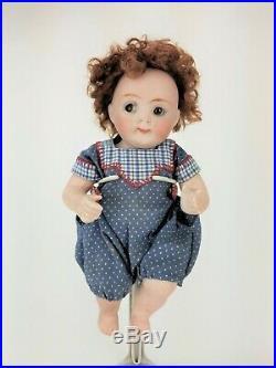 Antique German Kestner All Bisque Googly Sleep Eye Doll