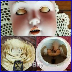 Antique German Kestner Mold 171 Bisque Socket Head Doll Org Matching Body & Head