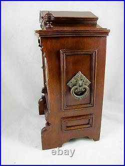 Antique German Lenzkirch Mantle Clock, C1880's