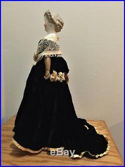 Antique German Parian Doll ca1870 Countess Dagmar