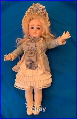 Antique German Pouty Kestner Bisque Doll STUNNING! Marked 7 Marked Kestner Body