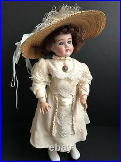 Antique German Schoenau & Hoffmeister S PB H 1909 Bisque Head Doll