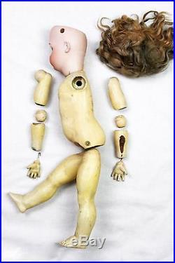 Antique German Simon & Halbig KR 403 Mechanical Doll