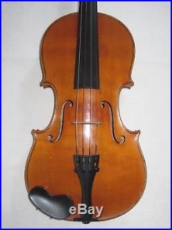 Antique German Violin 4/4 Amati Copy for the U. S. Navy a Vintage Old Fiddle