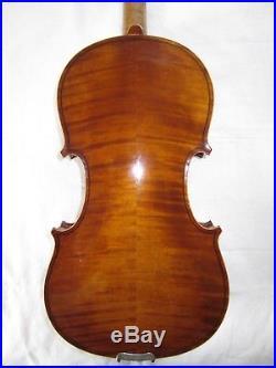 Antique German Violin 4/4 WILHELM DUERER 1905 Ready to Play Old Vintage