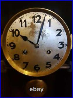 Antique German Wall Clock Junghans 1930s
