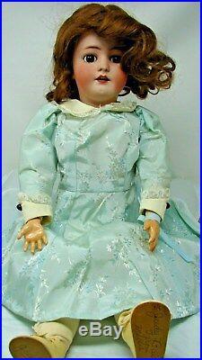 Antique Heinrich Handwerck Simon Halbig 22 Bisque Doll