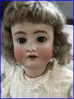 Antique Heinrich Handwerck Simon Halbig #6 30 Tall Doll German Stunning