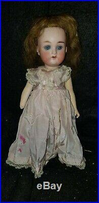 Antique Heubach 409 Bisque & Composition Cabinet Doll 8 1/2